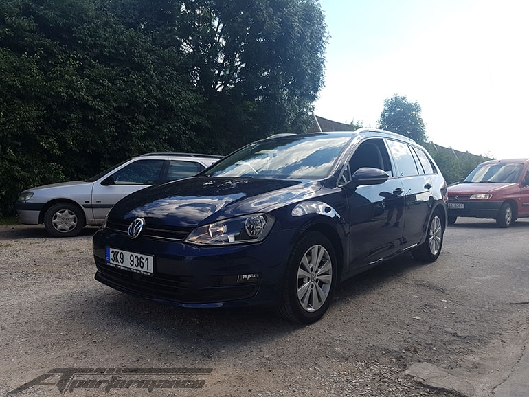 Chiptuning VW Golf VII 1.6 TDI CR 77kW