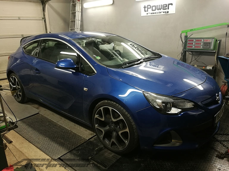 Chiptuning Opel Astra J - 2.0 TURBO OPC - 206kW