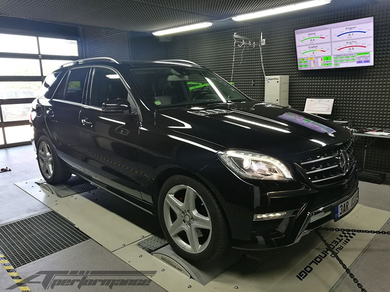 Chiptuning Mercedes-Benz ML (W166) - 350 CDI